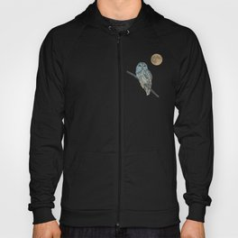 Owl, See the Moon Hoody