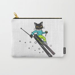 Ski action Carry-All Pouch