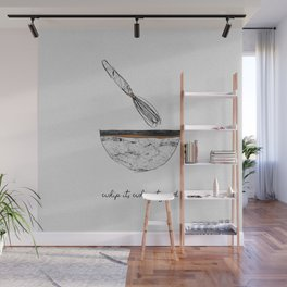 Whip It Good Wall Mural