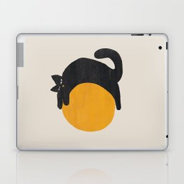 Cat with ball Laptop & iPad Skin