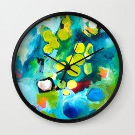 Exploring Lichen 1 Wall Clock