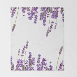 Purple Lavender #2 #decor #art #society6 Throw Blanket