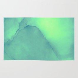 Green gable Rug