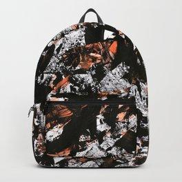 graffiti black Backpack