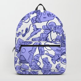 Retro Gamer - Blue Backpack