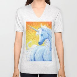 Explosions in the Background Unisex V-Neck