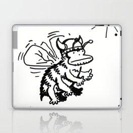 Vanguard of the Viking Ape-Bee Raiding Party Laptop & iPad Skin
