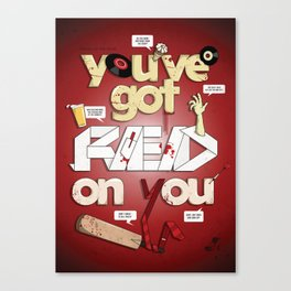 Shaun Of The Dead ' You've got red on you' Canvas Print