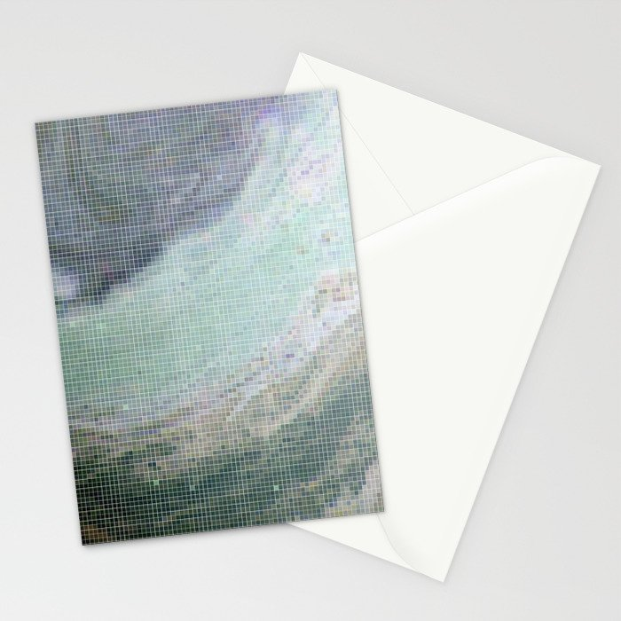 Saturn Infrared Stationery Cards