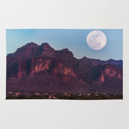 Super Blue Moon over Arizona #society6 #decor #buyart Rug