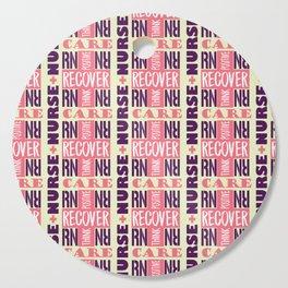 Nurse Tile Pattern Cutting Board