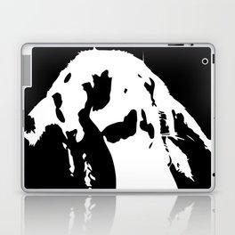 Black & White English Lop Laptop & iPad Skin