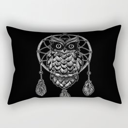 Dream Catcher Owl Rectangular Pillow