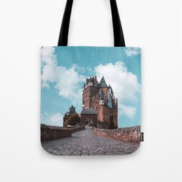 Burg Eltz Castle Germany Up in the Clouds Tote Bag