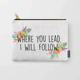 Gilmore Girls - Where you lead Carry-All Pouch