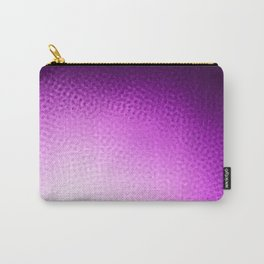 Purple Points Carry-All Pouch