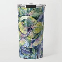 """Forest hydrangea"" Travel Mug"