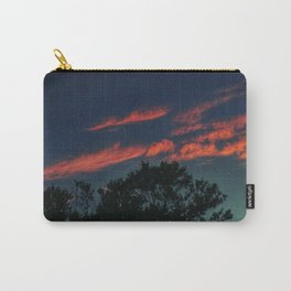Pink Streaks Carry-All Pouch