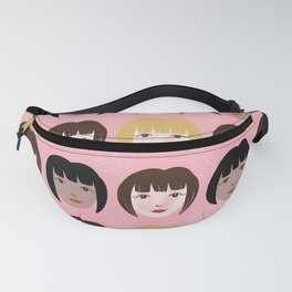 Gamine Faces Fanny Pack