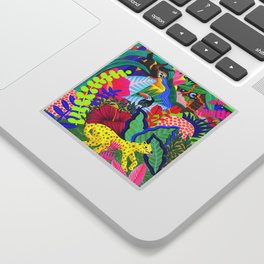 Jungle Party Animals Sticker
