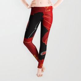 Poppy variation 8 Leggings