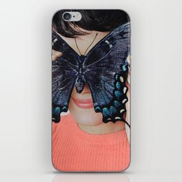 Morpho Butterfly iPhone Skin