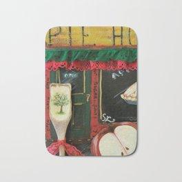 Pie Hole, Apple Pie, Mixed Media Art, by Faye Bath Mat
