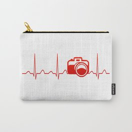 CAMERA HEARTBEAT Carry-All Pouch