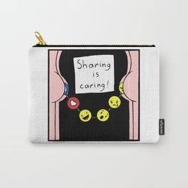 Sharing is caring! Carry-All Pouch