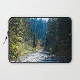 Fall Trees Photography Print Laptop Sleeve