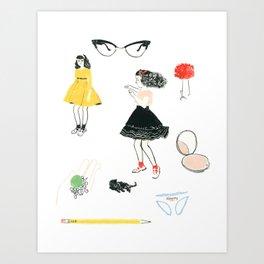 Sugar & Spice Art Print