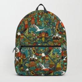 twisty turny love Backpack