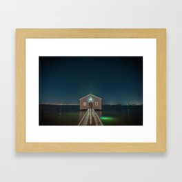 The Boat House 3 Framed Art Print