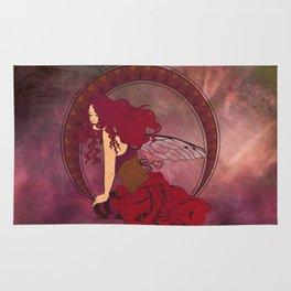 Autumn Fairy Nouveau Rug