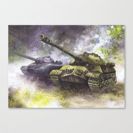 IS-3 Tanks Canvas Print