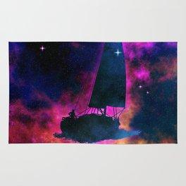 Cosmic Sailing Rug