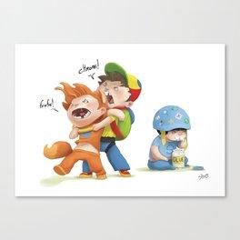 browser wars Canvas Print