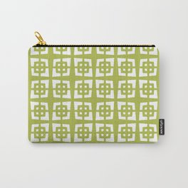 Mid Century Modern Pattern 271 Chartreuse Carry-All Pouch