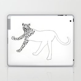Half-dressed leopard Laptop & iPad Skin
