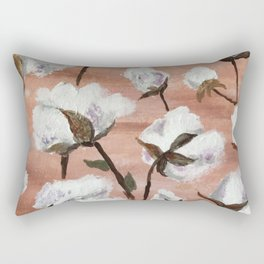 Cotton field Rectangular Pillow