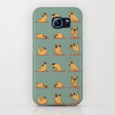 Pug Yoga Galaxy S8 Slim Case