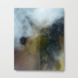 Success Is A Lonely Road Metal Print