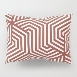 Chestnut - violet - Minimal Vector Seamless Pattern Pillow Sham