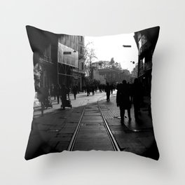 Taksim, Beyoglu Throw Pillow