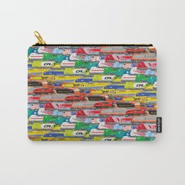 Locomotives - Rainbow by Railcolor Carry-All Pouch