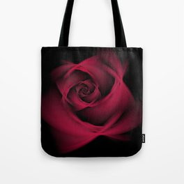 Abstract Rose Burgundy Passion Tote Bag