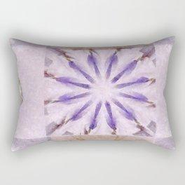 Faience Entity Flowers  ID:16165-051910-13480 Rectangular Pillow
