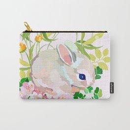 springtime bunny Carry-All Pouch