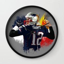 Tom Brady Wall Clock