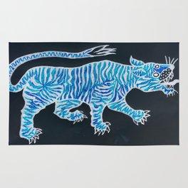 Tiger Blue Rug